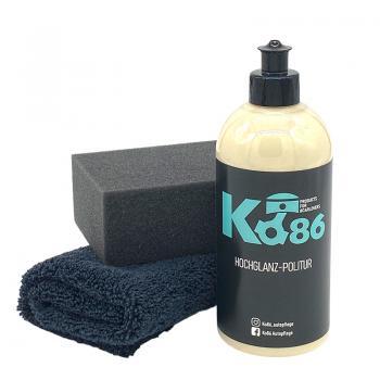 Ko86 Hochglanzpolitur 500ml inkl. Reinigungs-& Poliertuch