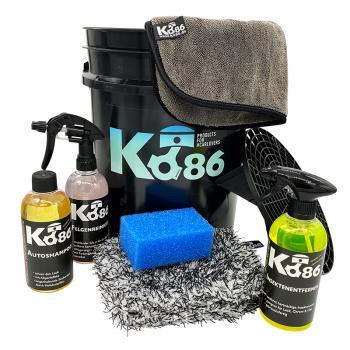 Ko86 XXL Autowasch-Set inkl. Wascheimer
