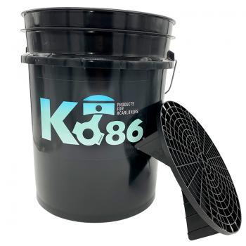Ko86 Wascheimer von GRIT GUARD® 19 Liter inkl. Schmutzsieb
